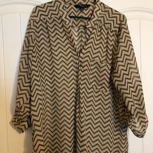Tops - Chevron tunic